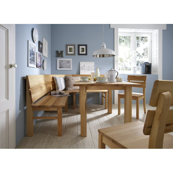Magnificent Corner Dining Bench Set Wayfair Co Uk Caraccident5 Cool Chair Designs And Ideas Caraccident5Info