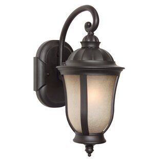 Compare Oakhill 1-Light Outdoor Wall Lantern By Charlton Home