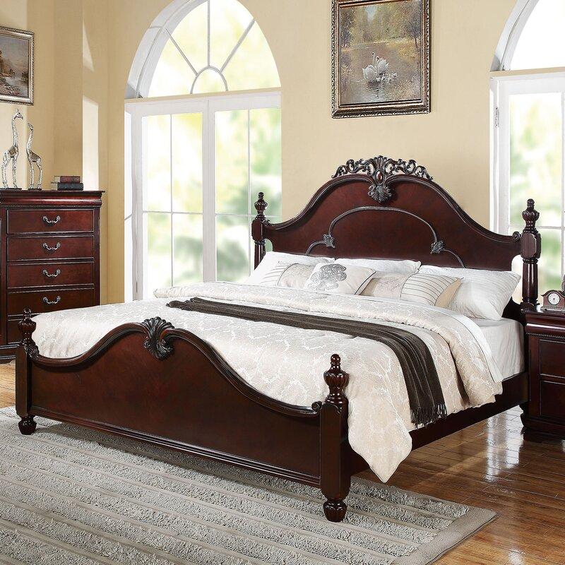 Fleur De Lis Living Weyant Panel Wood Customizable Bedroom Set