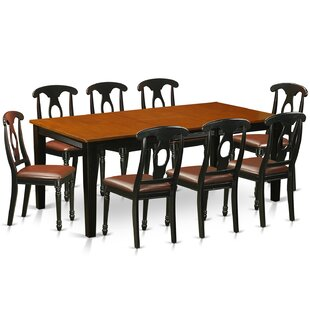 Pilger Contemporary 9 Piece Dining Set August Grove