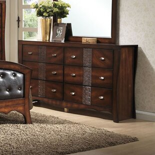 Astoria Grand Pulido 6 Drawer Double Dres..