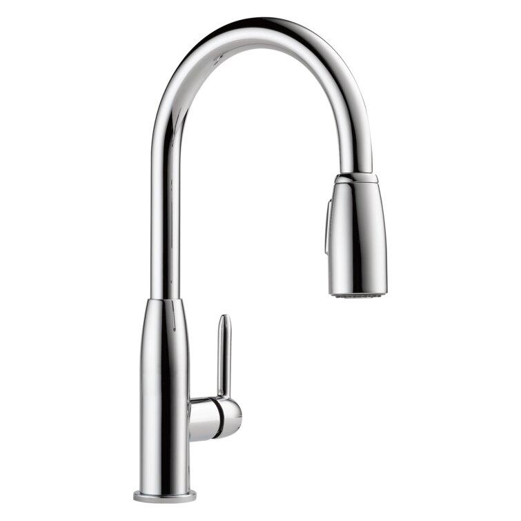 Peerless Faucets Apex Pull Down Single Handle Kitchen Faucet Reviews Wayfair