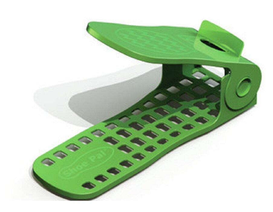 Charming Adjustable 3D Plastic Shoe Rack