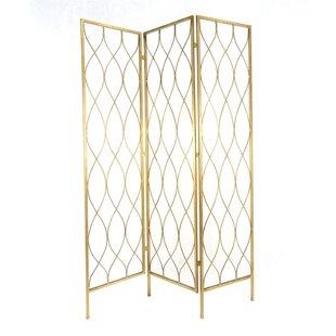 Mercer41 Kloss Geometrical 3 Panel Room Divider