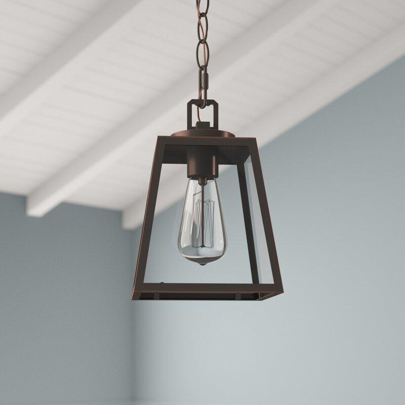 1 - Light Lantern Geometric Pendant