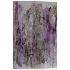 Translucent IV Painting Print on Wrapped Canvas