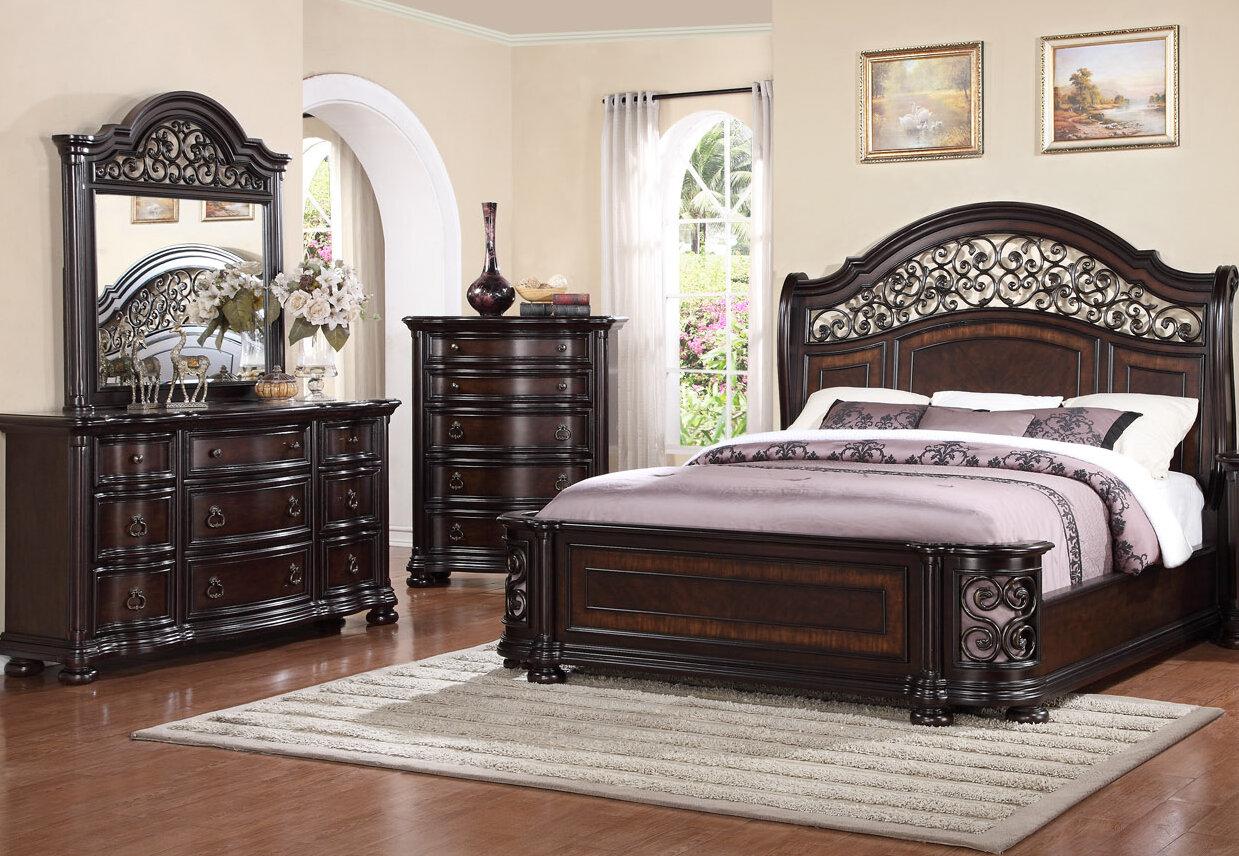 Winkelman Queen Standard 6 Piece Bedroom Set