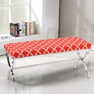 Palazzo Fabric Cushion Upholstered Bench