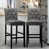 Sanuary 42 Bar Stool (Set of 2) by Charlton Home®