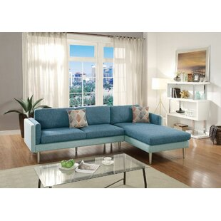 Ivy Bronx Lucchesi Reversible Sectional