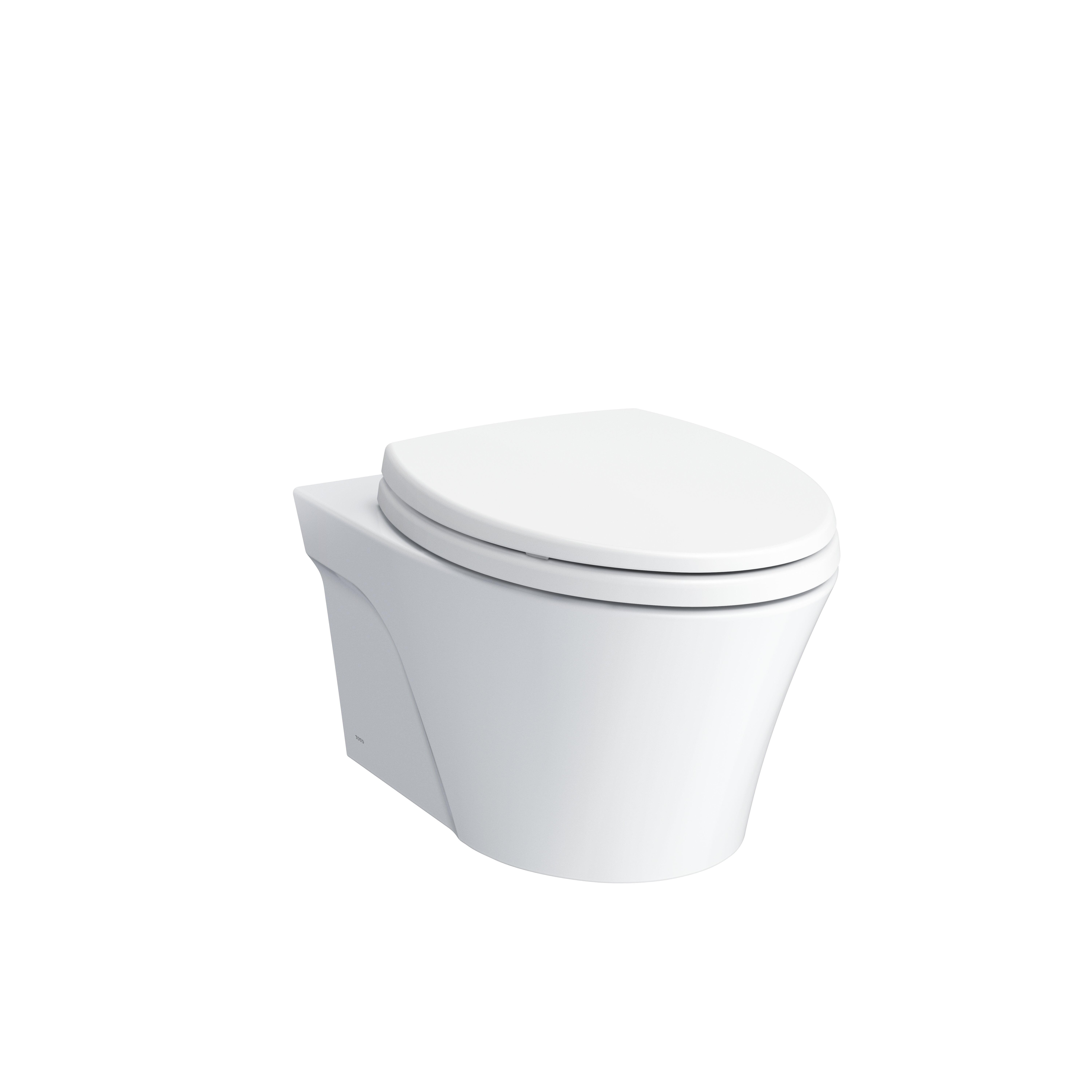 Outstanding Toto Ap Washlet Ready Wall Hung Elongated Toilet Bowl With Skirted Design And Cefiontect Creativecarmelina Interior Chair Design Creativecarmelinacom