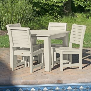 Darby Home Co Berry 5 Piece Bar Height Dining Set