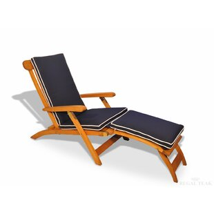 Regal Teak Streamer Outdoor Teak Lounger