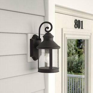 Godbey 1-Light Outdoor Wall Lantern