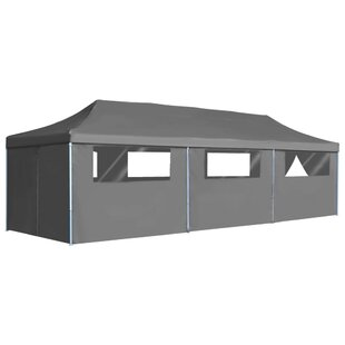 Bouffard 3m X 9m Steel Pop-Up Party Tent By Sol 72 Outdoor