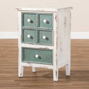 Clyburn 5 Drawer Nightstand