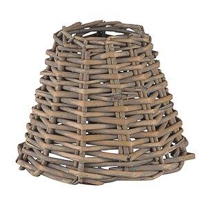 Bamboo or rattan lamp shades wayfair mix up rattan 14cm lampshade aloadofball Gallery