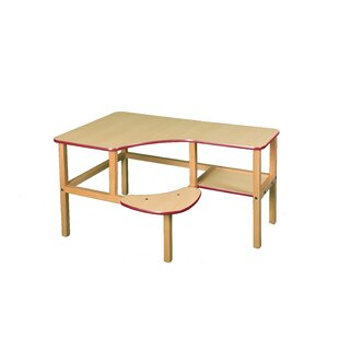 Grade School Manufactured Wood 23 Student Computer Desk by Wild Zoo