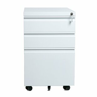 Symple Stuff Willison 3-Drawer Vertical Filing Cabinet