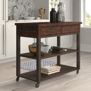 Vaccaro Kitchen Island Mercury Row