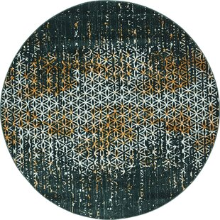 Ventura Teal Area Rug by Wrought Studio