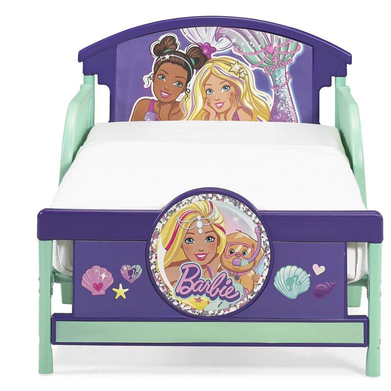 Barbie Mermaid Toddler Bed | Wayfair