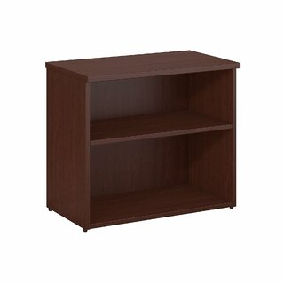 2 Shelf Standard Bookcase by Bush Business Furniture SKU:EC120633 Buy