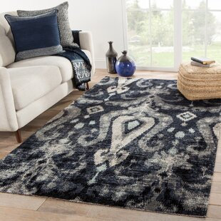 Jambi Ikat Black/Beige Indoor/Outdoor Area Rug