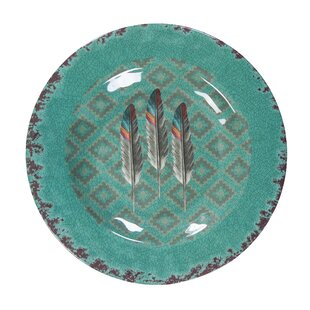Feather Melamine Salad Plate (Set of 4)