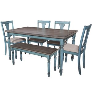 Shop 563 Distressed Finish Kitchen U0026 Dining Room Sets | Wayfair