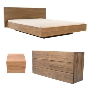 Karr Platform 3 Piece Configurable Bedroom Set