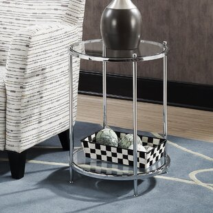 Orren Ellis Tressie Round End Table
