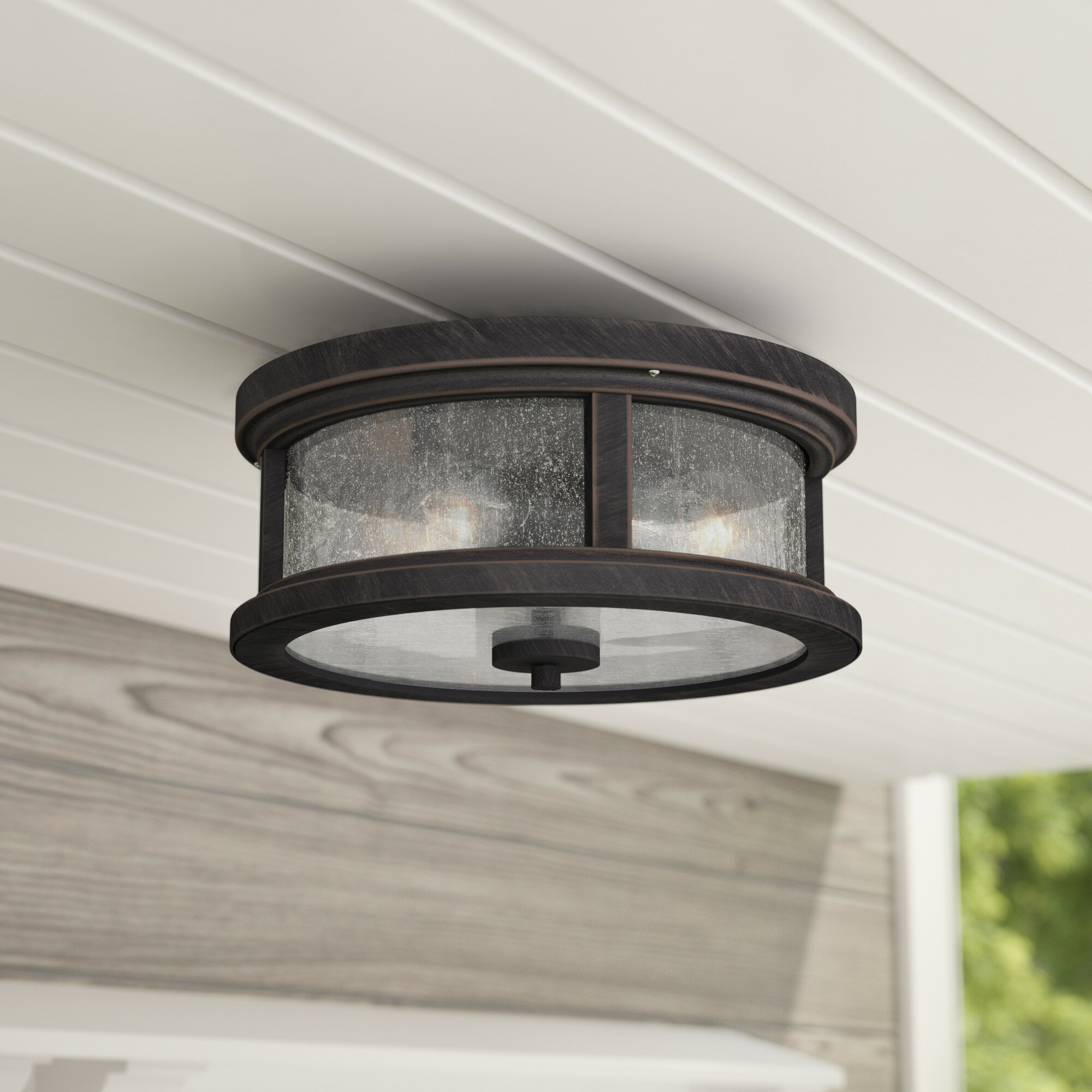 Marvelous Colwyn 2 Light Outdoor Flush Mount Download Free Architecture Designs Intelgarnamadebymaigaardcom