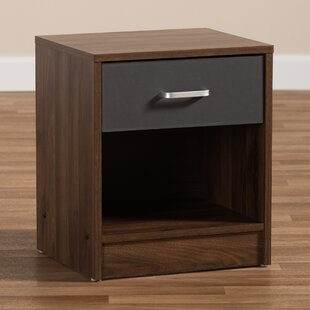 Hiltonia 1 Drawer Nightstand by Ebern Designs