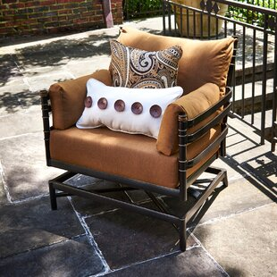 Lancaster Patio Chair with Sunbrella Cushion (Set of 2)