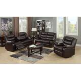 Hamlin Reclining 3 Piece Living Room Set by Red Barrel Studio