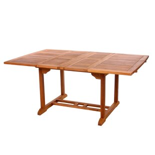 Looking for Humphrey Extendable Teak Dining Table Affordable