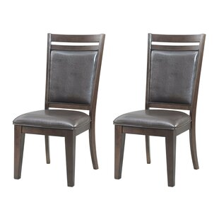 Iron City Dining Chair (Set of 2) Red Barrel Studio