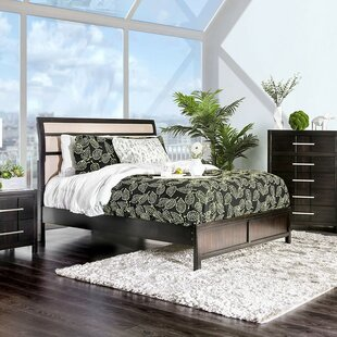 Midwest Upholstered Sleigh Bed