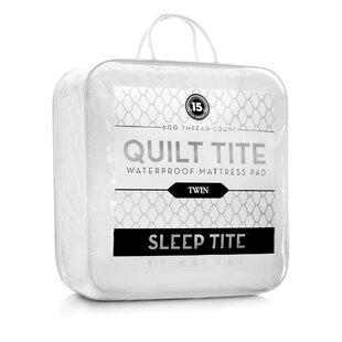 Quilt Tite Hypoallergenic Waterproof Mattress Protector ByAlwyn Home