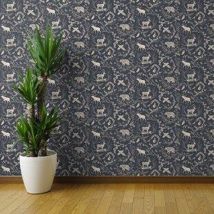 Spoonflower Wallpaper Rolls You'll Love | Wayfair