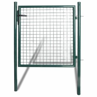 3 Ft. H X 5 Ft W Houstonia Metal Gate By WFX Utility