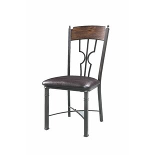 Fleur De Lis Living Timpson Upholstered Dining Chair (Set of 2)