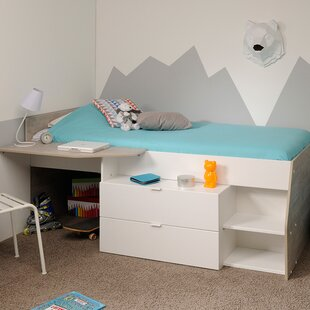 Shop For Milky Twin Low Loft Bed by Parisot Reviews (2019) & Buyer's Guide