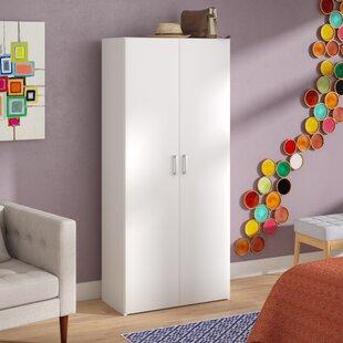 Affordable Minda Armoire with 2 Door ByZipcode Design