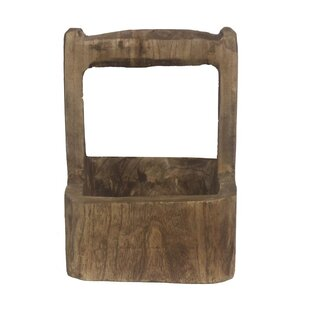 Wigginton Wood Pot Planter by Millwood Pines