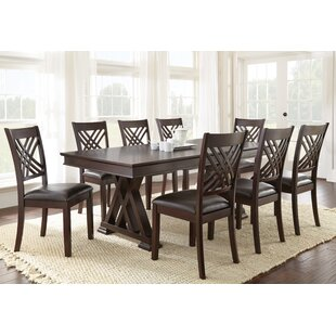 Mattos 9 Piece Dining Set Brayden Studio