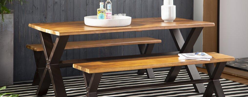 Pleasing Modern Outdoor Dining Furniture Allmodern Customarchery Wood Chair Design Ideas Customarcherynet