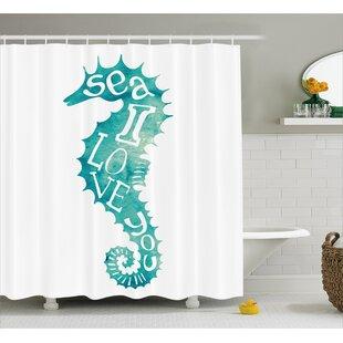 Roxanna Love is in Sunny Sea Shower Curtain