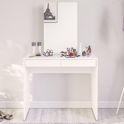 Boahaus 2 Drawer Vanity with Mirror